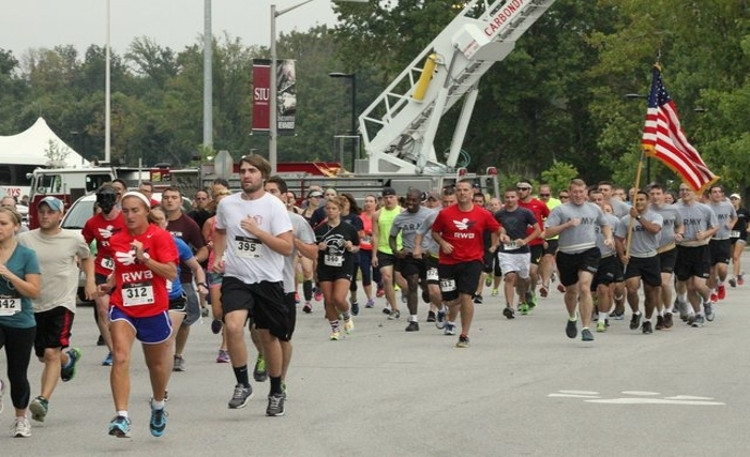 9-11 Run to Remember Start of the 5K Race